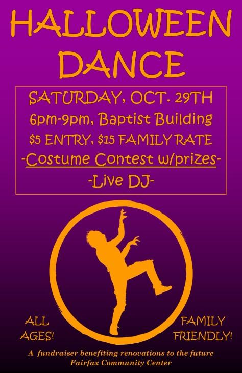 Halloween Dance 2016 info